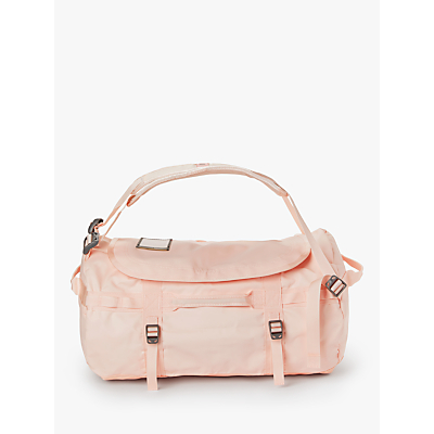 The North Face Base Camp Duffle Bag, Small, Pink Salt