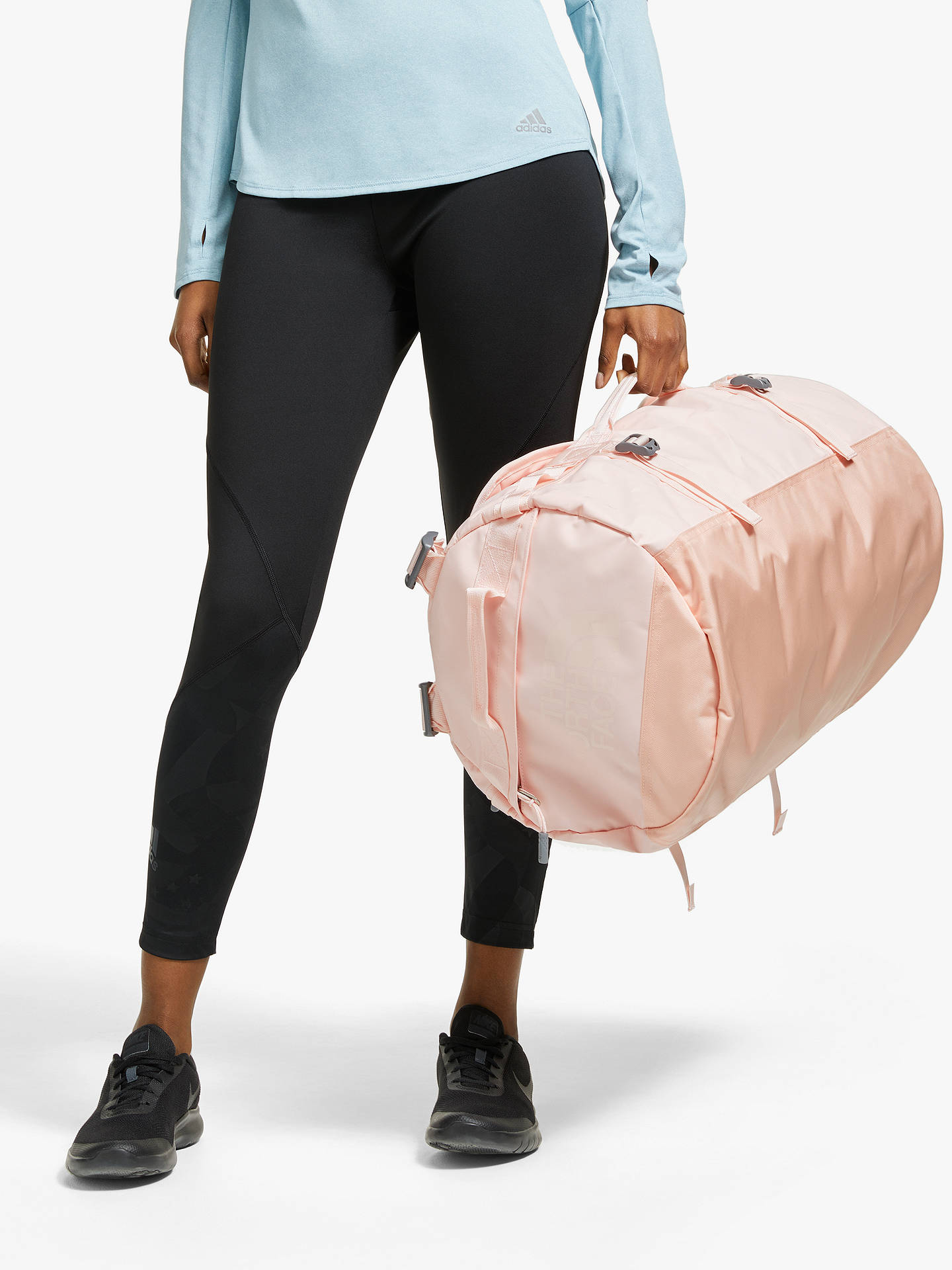 d645fc705 The North Face Base Camp Duffle Bag, Small, Pink Salt
