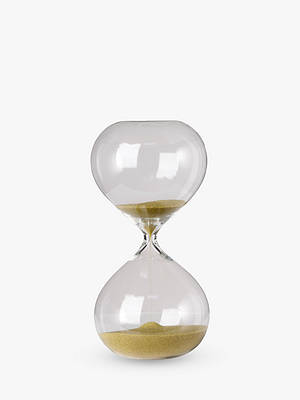 Buy Pols Potten Hourglass Ball Sandglass, Mini, Gold Online at johnlewis.com