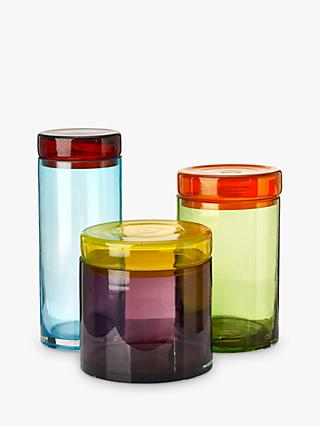 Pols Potten Multicoloured Caps and Jars, Set of 3