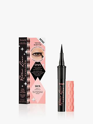 Benefit Roller Liner Eyeliner - True Matte Liquid Eyeliner - Travel Sized Mini, Black
