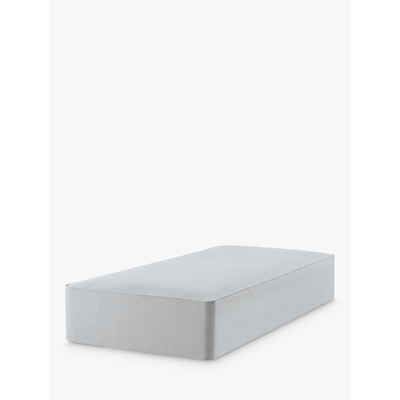John Lewis & Partners Natural Collection Pocket Sprung, Single Upholstered Divan Base, FSC-Certified (Pine)