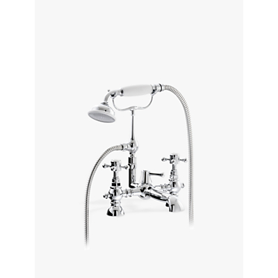 Image of Abode Sentiment Bath Filler Tap and Hand Shower, Chrome