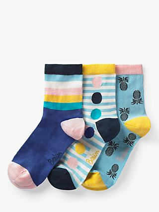 d12d5c21c21 Boden Stripe and Pineapple Print Ankle Socks