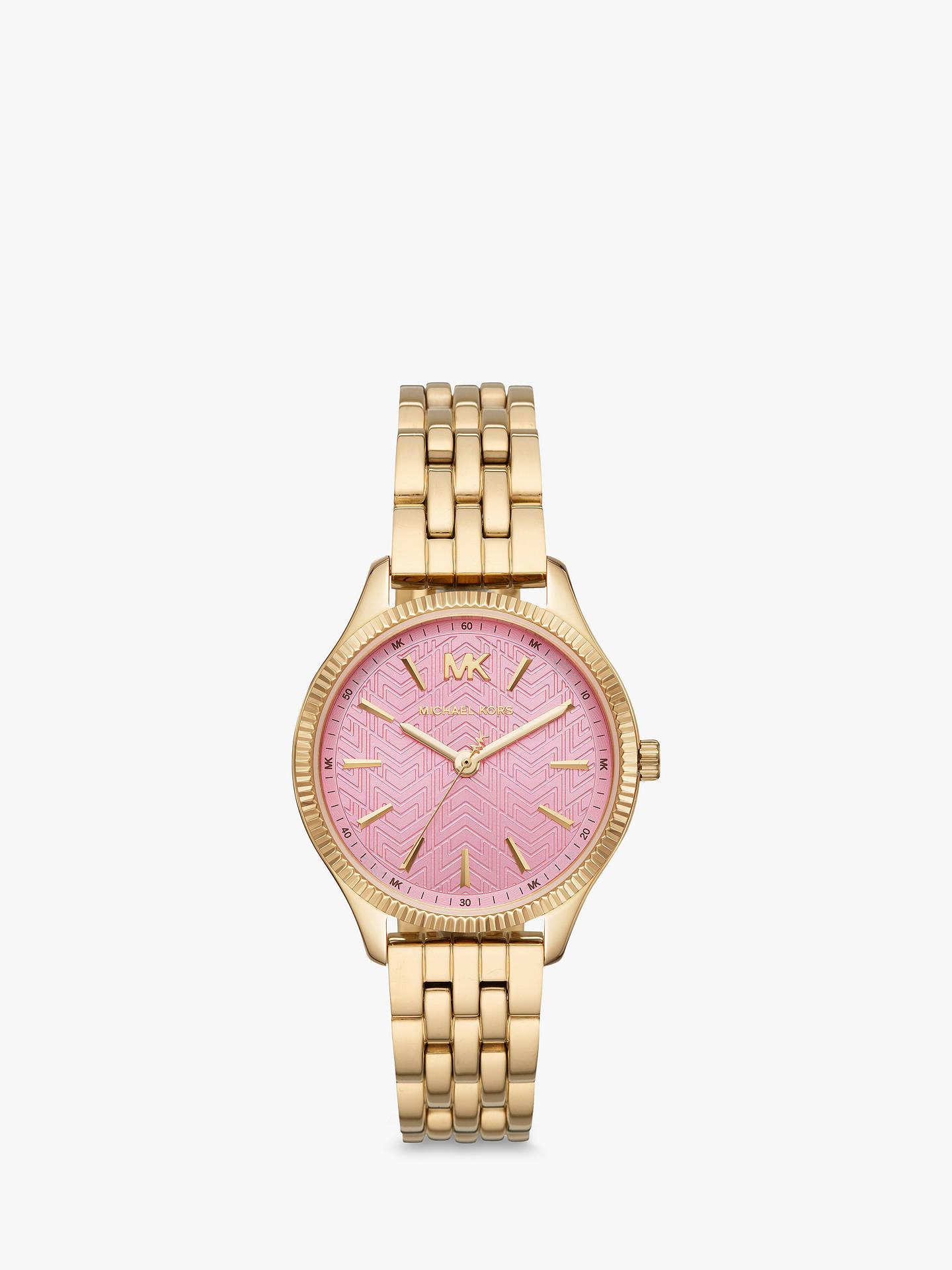 166486d31f23 Michael Kors Women s Lexington Bracelet Strap Watch at John Lewis ...