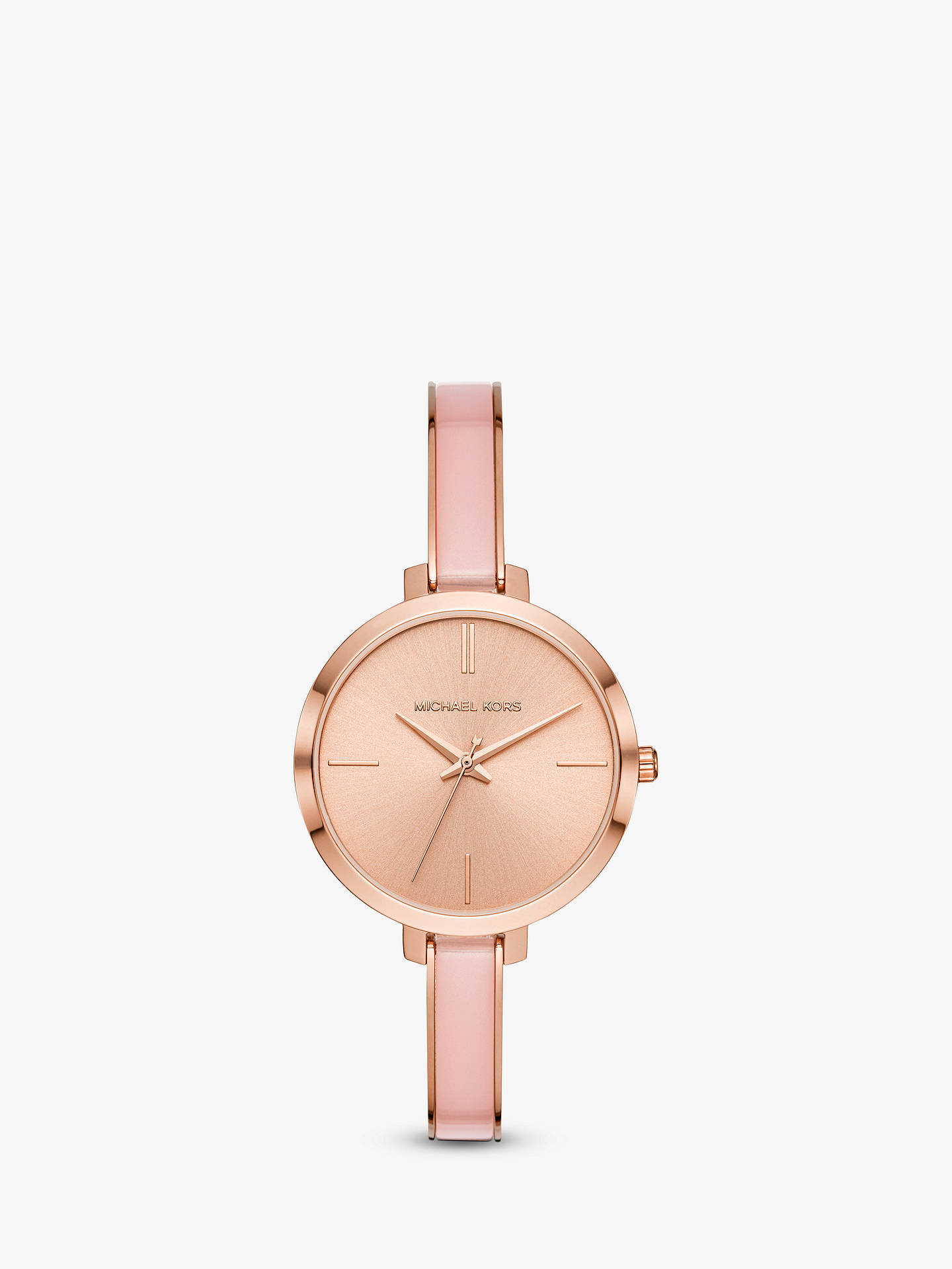 Michael Kors Women S Jaryn Bangle Strap Watch At John Lewis Partners