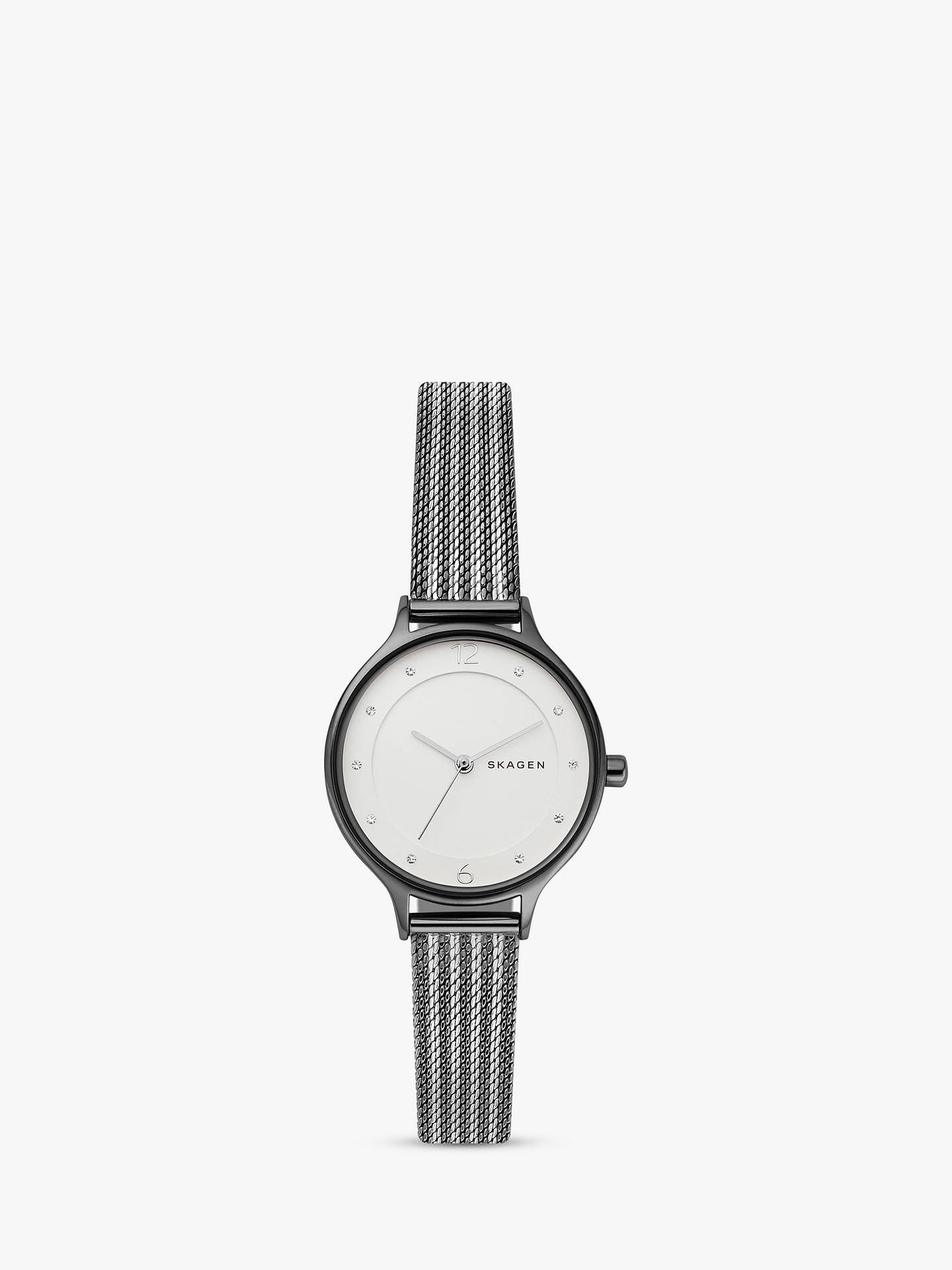 c3282bdf0 Buy Skagen Women's SKW2750 Two Tone Bracelet Strap Watch, Gunmetal Online  at johnlewis. ...