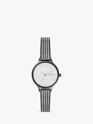 ab9ab92b184c Skagen Women s SKW2750 Two Tone Bracelet Strap Watch