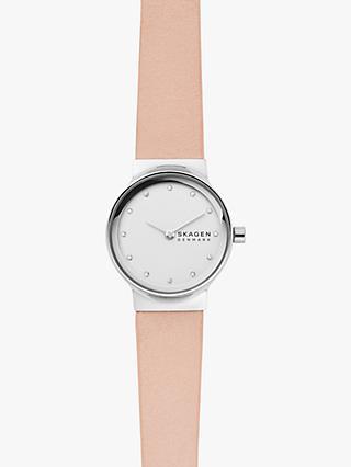 5c86823f7 Skagen Women's SKW2770 Bracelet Leather Strap Watch, ...