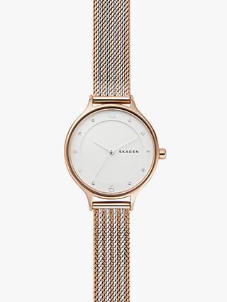 bd847f0da1e1 Skagen Women s SKW2749 Two Tone Bracelet Strap Watch