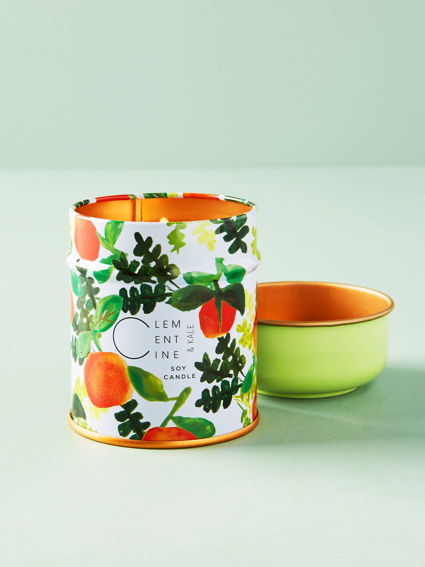 Buy Anthropologie Clementine Scented Tin Candle, 170g Online at johnlewis.com