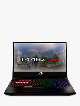 ASUS ROG Strix II GL504GM-ES192T Laptop, Intel Core i7, 16GB RAM, 1TB HDD +  256GB SSD, NVIDIA GeForce GTX 1060, 15 6