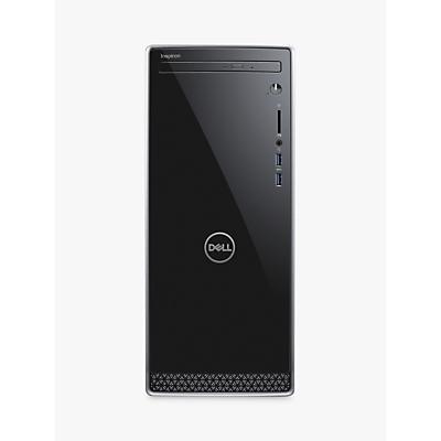 Image of Dell Inspiron 3670 Desktop PC, Intel Core i5, 8GB RAM, 1TB HDD, NVIDIA GeForce GTX 1050, Black