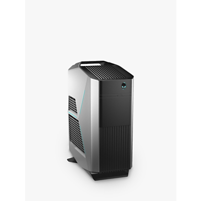 Image of Alienware Aurora R7 Gaming PC, Intel Core i7 Processor, 16GB RAM, 1TB HDD + 16GB Intel Optane Memory, GeForce RTX 2070, Epic Silver
