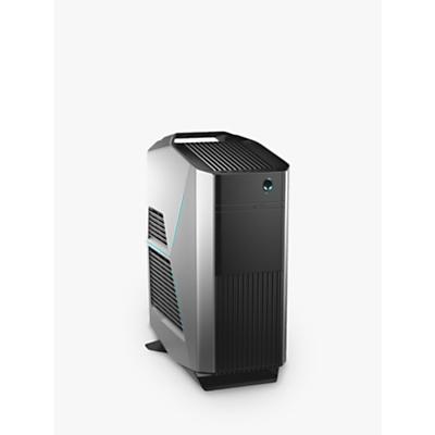 Image of Alienware Aurora R7 Gaming PC, Intel Core i7 Processor, 16GB RAM, 1TB HDD + 16GB Intel Optane Memory, GeForce RTX 2070, Epic Silver