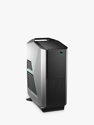 Alienware Aurora R8 Gaming PC, Intel Core i7 Processor, 32GB RAM, 2TB HDD + 512GB SSD, NVIDIA GeForce RTX 2080 Ti, Epic Silver