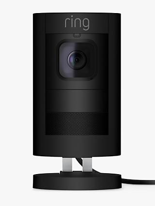 Ring Stick Up Cam Smart Security Camera with Built-in Wi-Fi, Wired