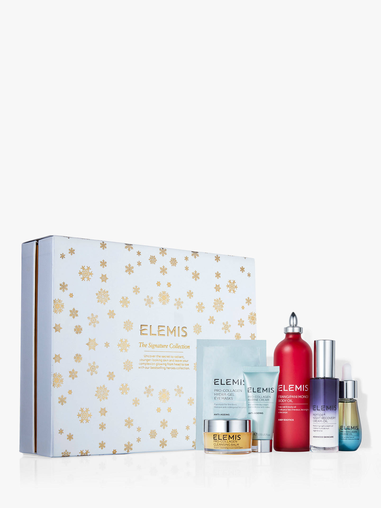 BuyElemis The Signature Collection Skincare Gift Set Online at johnlewis.com