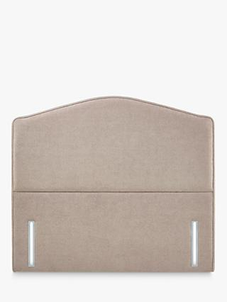 John Lewis & Partners Natural Collection Richmond Upholstered Headboard, Double, Erin Mole