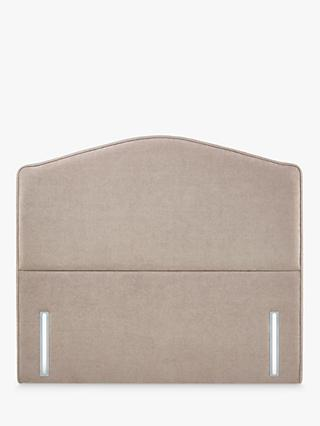 John Lewis & Partners Natural Collection Richmond Upholstered Headboard, Super King Size, Erin Mole