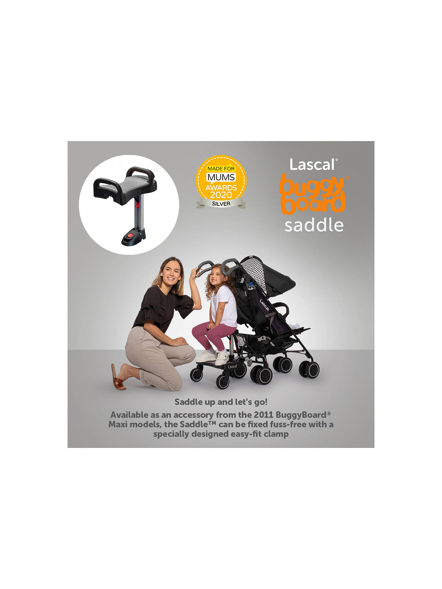 Lascal Buggy Board sadle