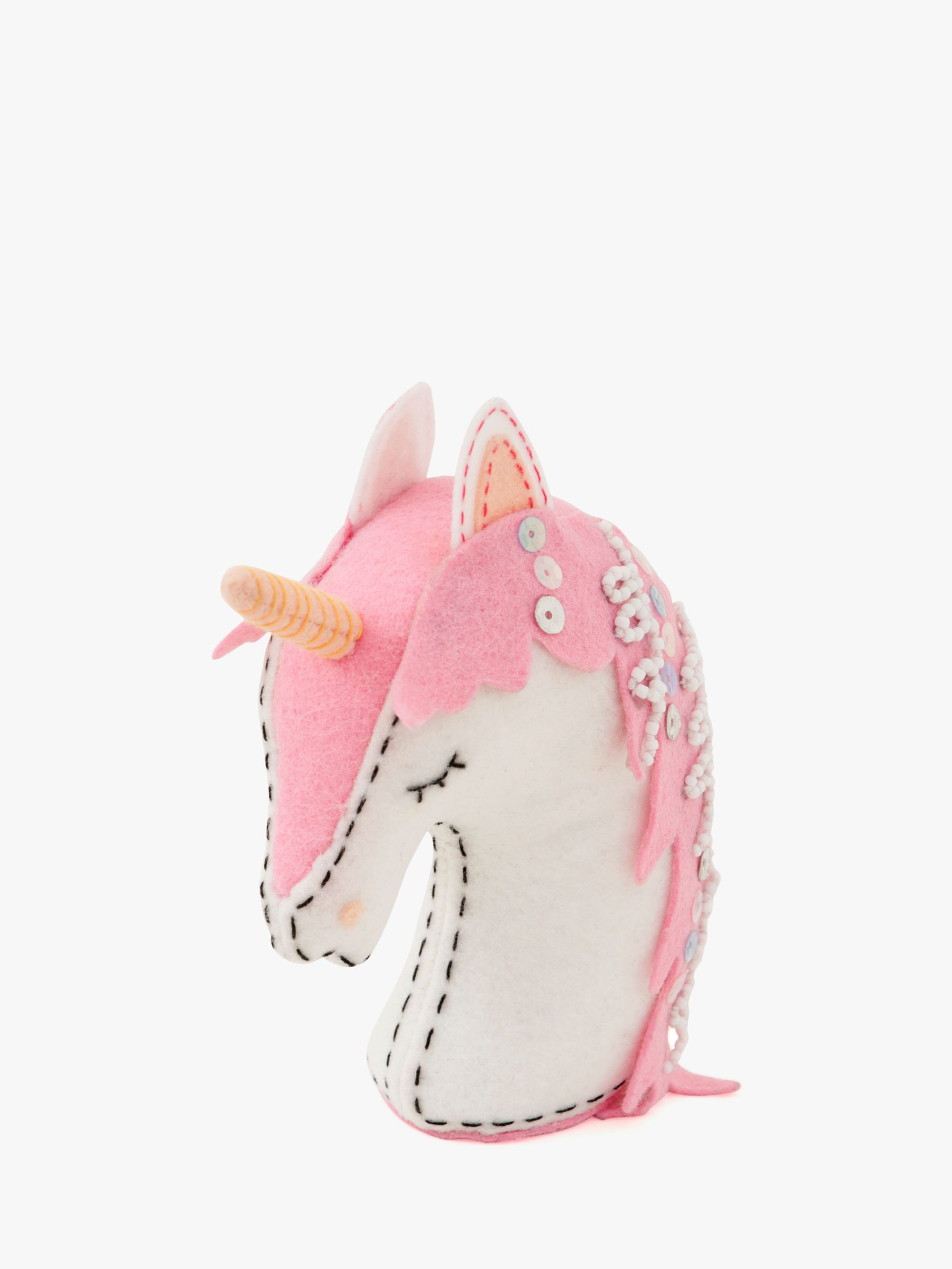 Groves Groves Unicorn Pin Cushion, White/Pink