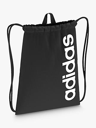 adidas Drawstring Bag, Black
