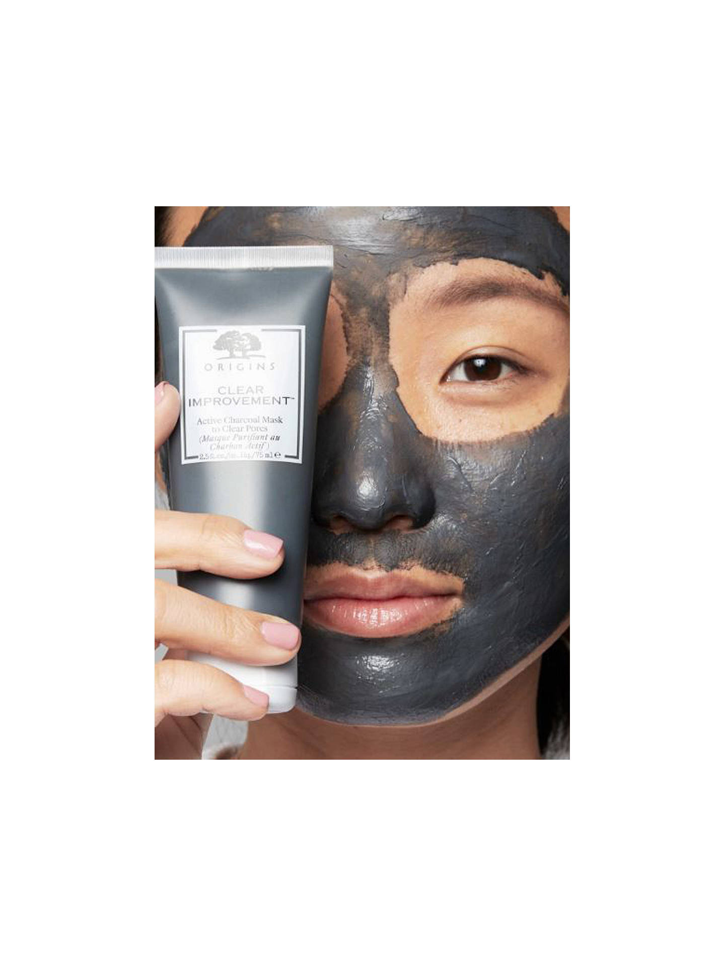 Buy Origins Clear Improvement® Active Charcoal Mask To Clear Pores, 75ml Online at johnlewis.com