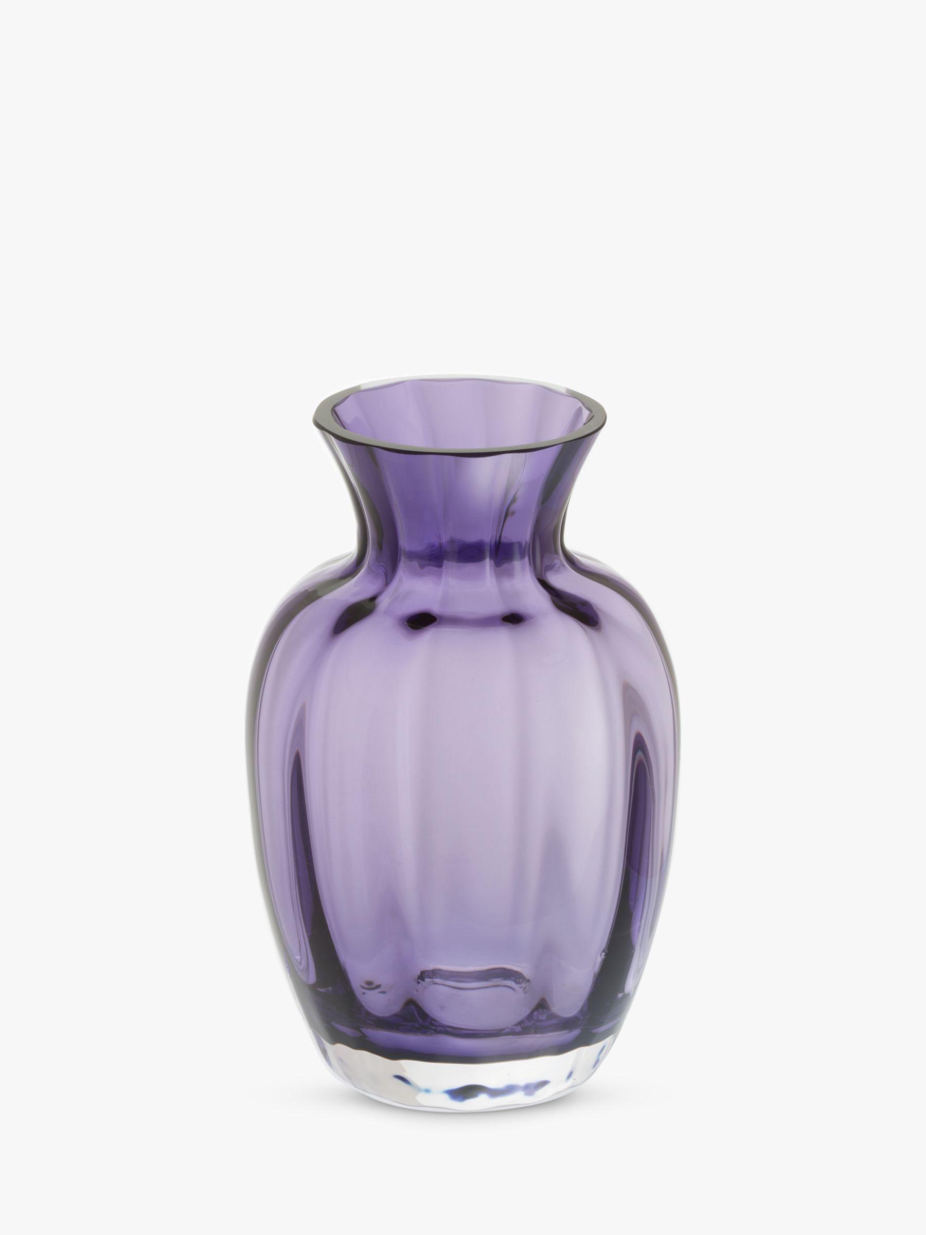 Dartington Crystal Dartington Crystal Little Treasures Vase, Amethyst