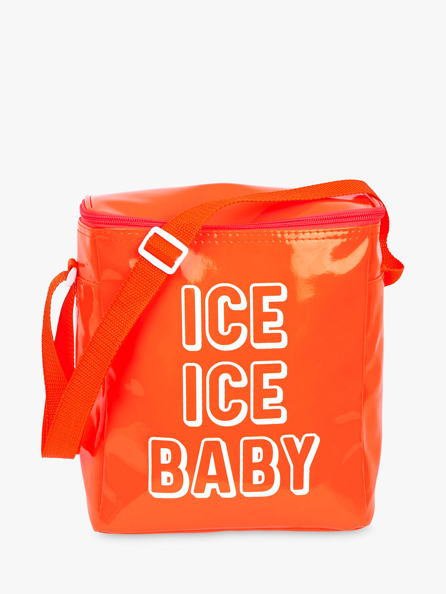 Buy Sunnylife Small Beach Cooler Bag, Neon Orange Online at johnlewis.com