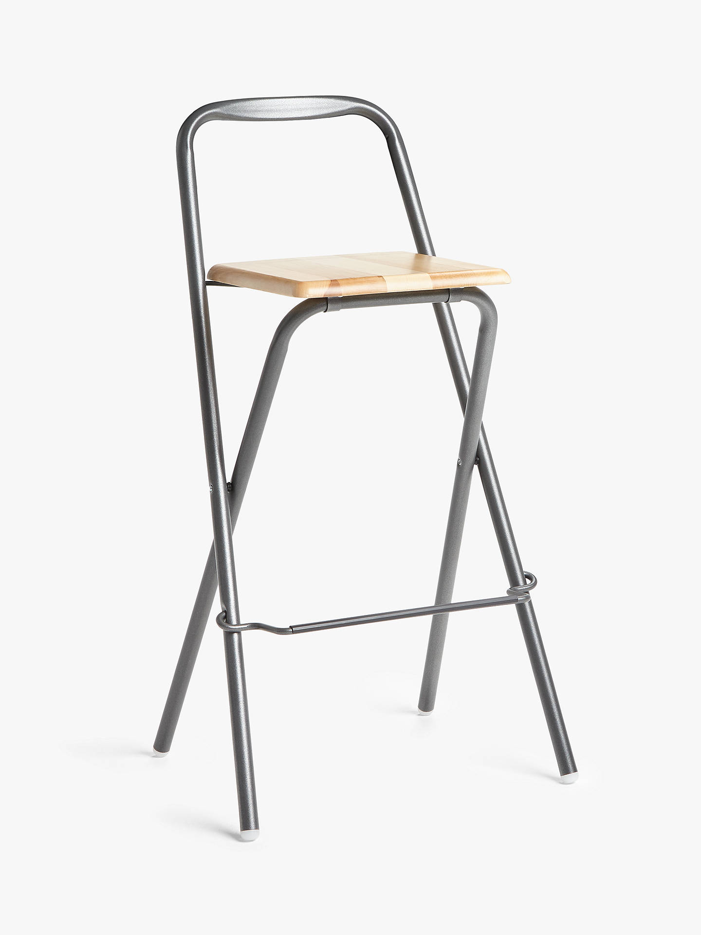 Prime Fiam Folding Bar Stool Grey Gmtry Best Dining Table And Chair Ideas Images Gmtryco