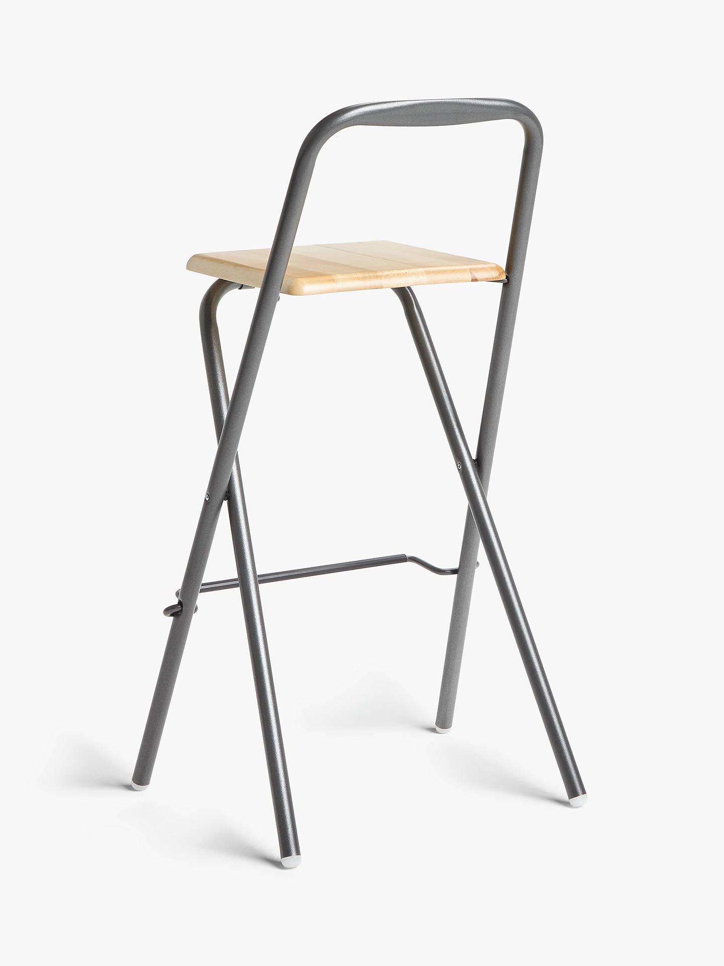 Peachy Fiam Folding Bar Stool Grey Alphanode Cool Chair Designs And Ideas Alphanodeonline