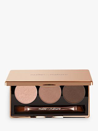 Nude by Nature Natural Illusion Eyeshadow Trio, 01 Nude