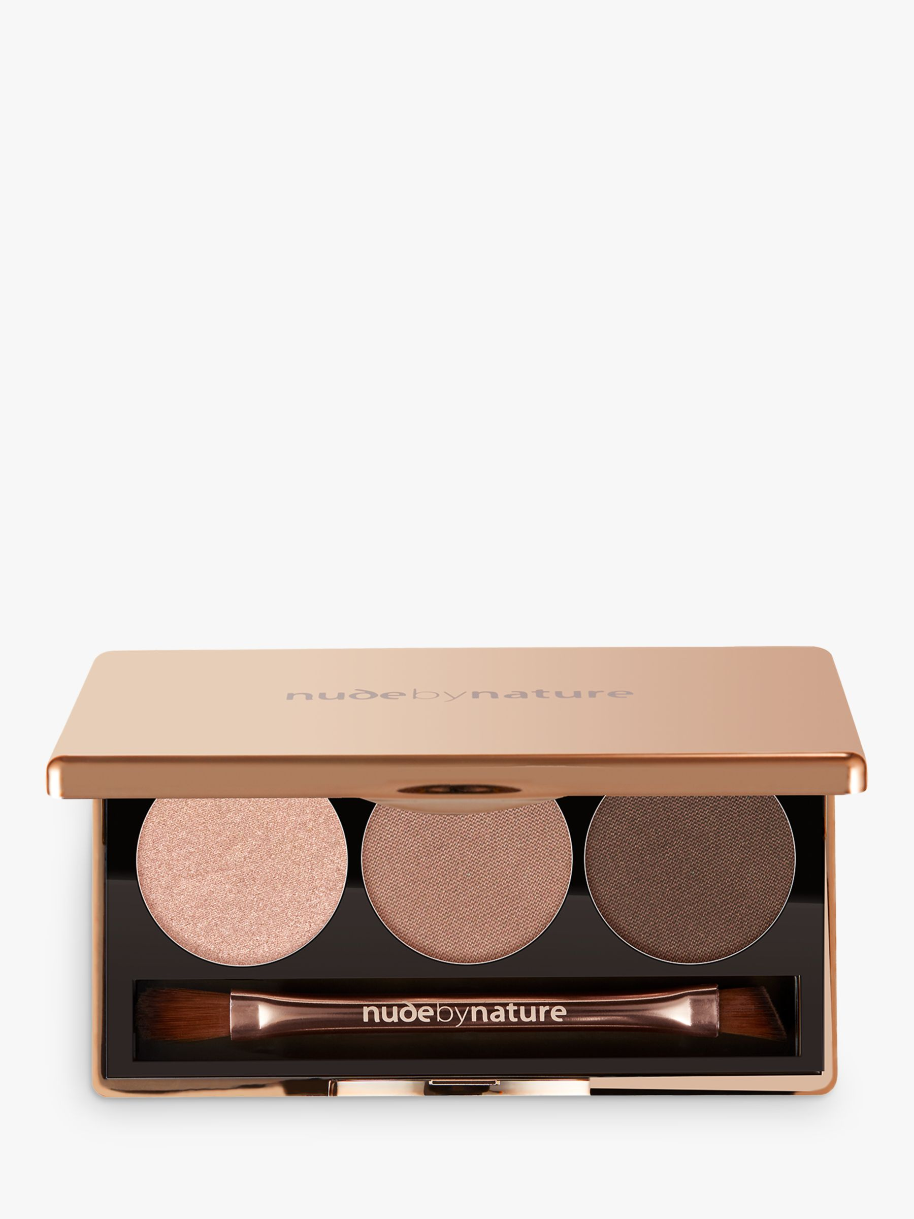 Nude by Nature Nude by Nature Natural Illusion Eyeshadow Trio, 01 Nude
