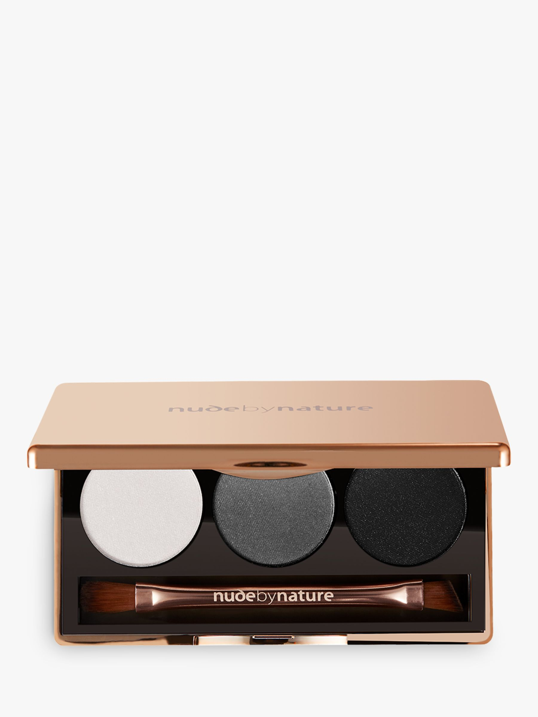 Nude by Nature Nude by Nature Natural Illusion Eyeshadow Trio, 02 Smoky