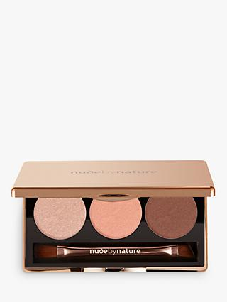 Nude by Nature Natural Illusion Eyeshadow Trio, 03 Rose
