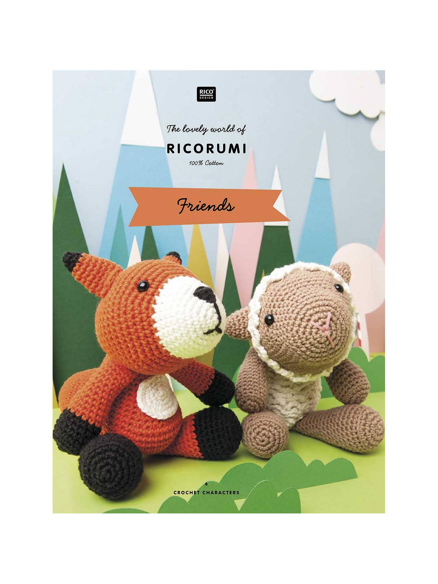 Rico Design Ricorumi Friends Crochet Pattern Book