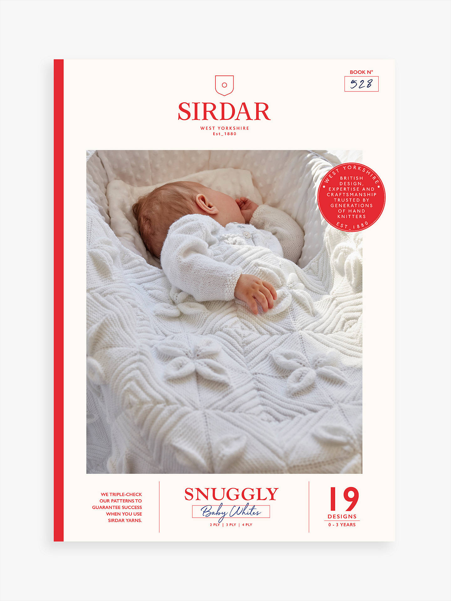 Sirdar Snuggly Baby Classics Knitting Pattern Booklet at ...