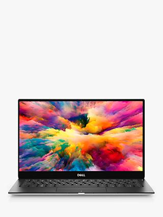 "Dell XPS 13 9380 Laptop, Intel Core i7 Processor, 16GB RAM, 512GB SSD, 13.3"" Ultra HD, Silver"