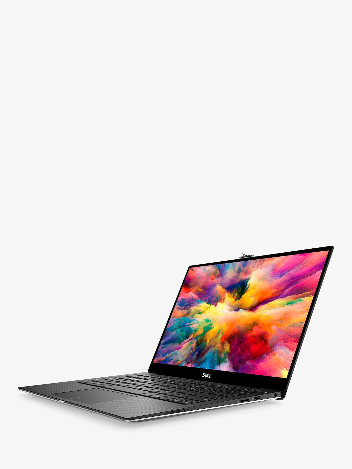 "Dell XPS 13 9380 Laptop, Intel Core i7 Processor, 16GB RAM, 512GB SSD,  13 3"" Ultra HD, Silver"