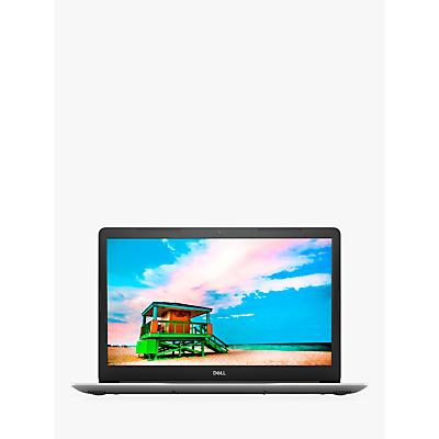 "Image of Dell Inspiron 17 3780 Laptop, Intel Core i7 Processor, 8GB RAM, 1TB HDD + 128GB SSD, 17.3"" Full HD, Silver"