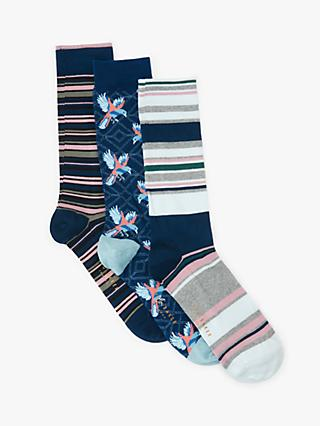 5da6704a52a Ted Baker Lyntton Parrot Socks