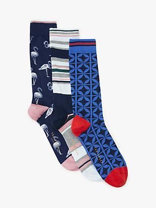 94617169b7597a Ted Baker Studlan Flamingo Socks