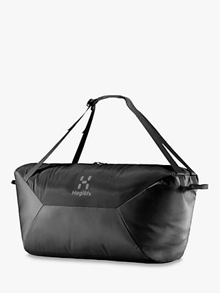 Haglöfs Teide 80L Duffel Bag, True Black
