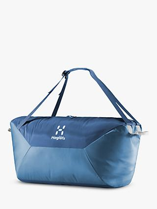 Haglöfs Teide 80L Duffel Bag, Blue Ink/Stone Grey