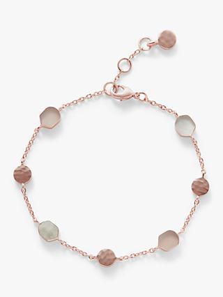 John Lewis   Partners Semi-Precious Stone Slice Chain Bracelet dc13fe9a3731