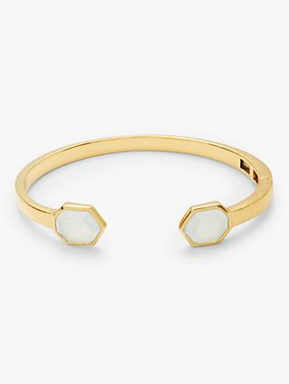 John Lewis & Partners Gemstones Hexagonal Stone Bangle