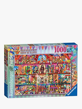 Ravensburger The Greatest Show Jigsaw Puzzle, 1000 Pieces