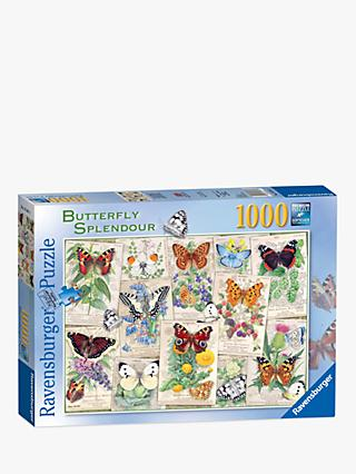Ravensburger Butterfly Splendours Jigsaw Puzzle, 1000 Pieces