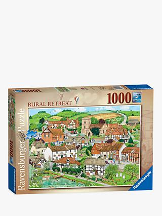 Ravensburger Rural Retreat Jigsaw Puzzle, 1000 Pieces